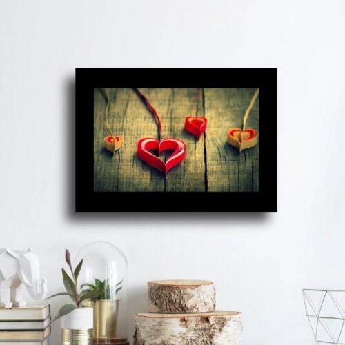quadro ChromaLuxìe orizzontale stampa alluminio