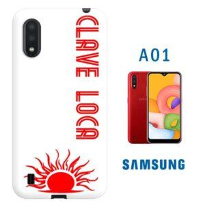 Cover personalizzata samsung galaxy A01