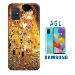 Cover personalizzata morbida per samsung galaxy A51