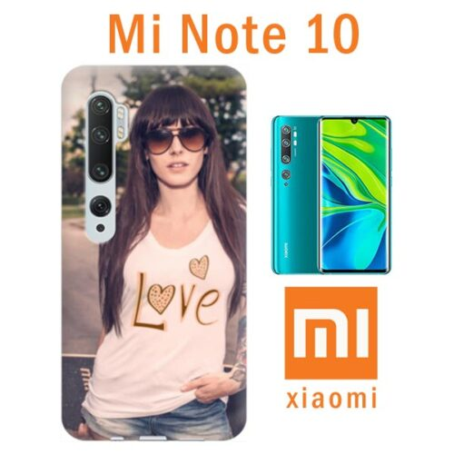 Cover Personalizzata Xiaomi Mi Note 10