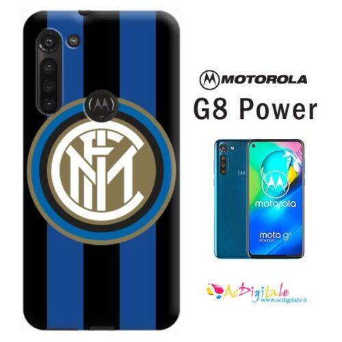 esempio Cover personalizzata inter moto g8 power