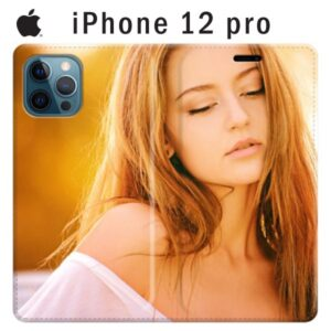 custodia a libro personalizzata iphone 12 pro