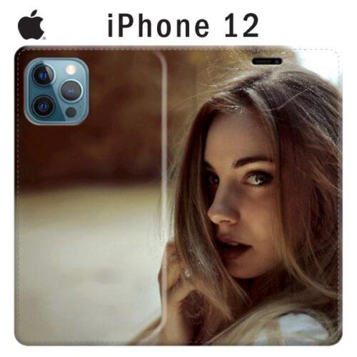 Cover a libro personalizzata iPhone 12
