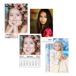 calendario personalizzata mensile 12 foto