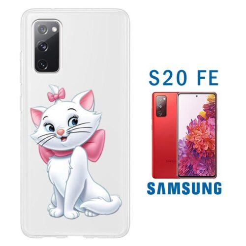 cover Personalizzata silicone trasparente Galaxy S20 FE