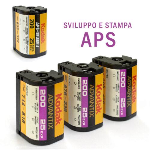 sviluppo e stampa rullini APS