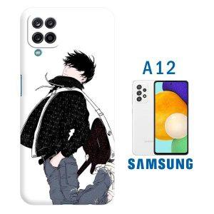 cover personalizzata galaxy A12