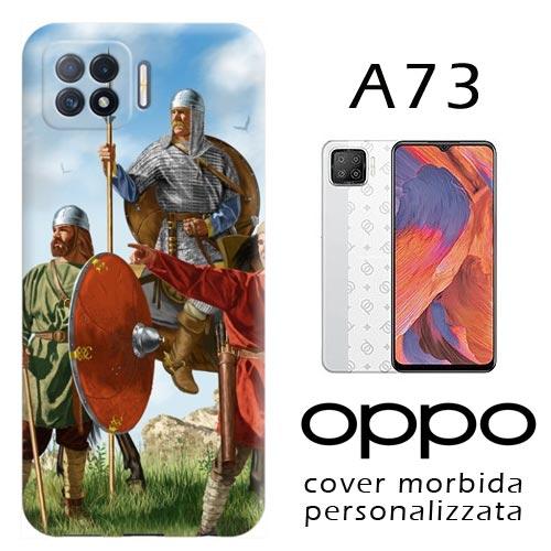 Cover personalizzata per Oppo A73 morbida