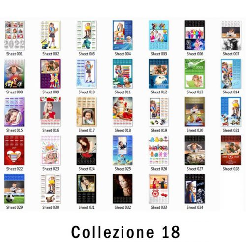 galleria calendari personalizzati 2022