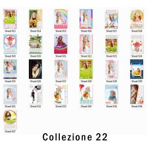 calendari personalizzati con grafiche pronte