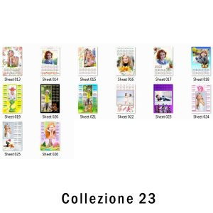 calendario con grafica pronta 2022