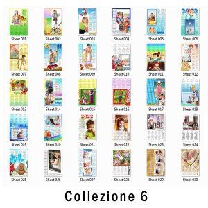 Calendari personalizzato con foto 2022