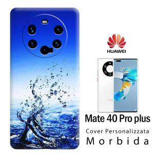 Mate 40 Pro Plus cover personalizzata
