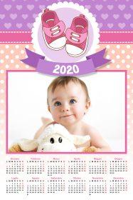regali di natale - calendario nascita femminuccia