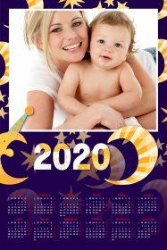 regali di natale - calendari personalizzati baby fantasy