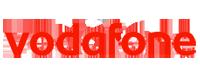 Cover personalizzate morbide Vodafone